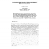 Towards a Dynamic Resource Contractualisation for Software Components
