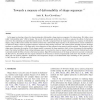 Towards a measure of deformability of shape sequences