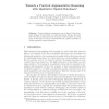 Towards a Practical Argumentative Reasoning with Qualitative Spatial Databases