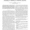 Towards a Rational Approach for the Logical Modelling of Inhibition in Metabolic Networks