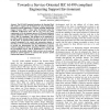 Towards a Service-Oriented IEC 61499 compliant Engineering Support Environment