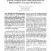 Towards Adaptive Sensor Data Management for Distributed Fire Evacuation Infrastructure