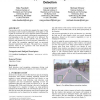 Towards an approach for knowledge-based road detection