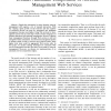Towards Automatic Composition of Network Management Web Services