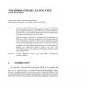 Towards Automatic Feature Type Publication