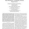 Towards Comprehensive Requirement Analysis for Data Warehouses: Considering Security Requirements