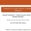 Towards Fair Leader Election in Wireless Networks