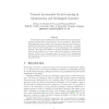 Towards incremental social learning in optimization and multiagent systems