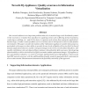 Towards IQ-Appliances: Quality-awareness in Information Virtualization