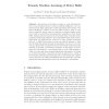 Towards Machine Learning of Motor Skills