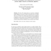 Towards Metalogical Systematisation of Deontic Action Logics Based on Boolean Algebra