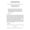 Towards Metaprogramming for Parallel Systems on a Chip