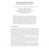 Towards Model-Driven Testing of a Web Application Generator