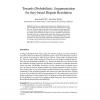Towards (Probabilistic) Argumentation for Jury-based Dispute Resolution