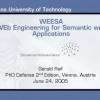 Towards Semantic Web Engineering: WEESA - Mapping XML Schema to Ontologies