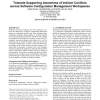 Towards supporting awareness of indirect conflicts across software configuration management workspaces