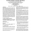 Towards supporting the architecture design process through evaluation of design alternatives