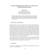 Towards Update Relevance Checks in a Context Aware Mobile Information System