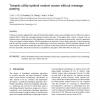 Towards utility-optimal random access without message passing