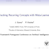 Tracking Recurring Concepts with Meta-learners