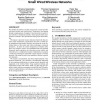 Traffic management and resource allocation in small wired/wireless networks