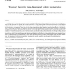 Trajectory fusion for three-dimensional volume reconstruction