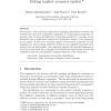 Transaction Scripts: Making Implicit Scenarios Explicit