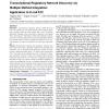 Transcriptional regulatory network discovery via multiple method integration: application to e. coli K12