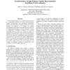 Transformations of Signed-Binary Number Representations for Efficient VLSI Arithmetic
