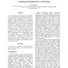 Translation from GDMO/ASN.1 to tML/Schema