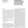 Translational and Rotational Maneuvers of an Underactuated Space Robot using Prismatic Actuators