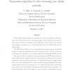 Transmission algorithm for video streaming over cellular networks