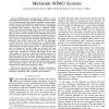 Transmit power allocation for successive interference cancellation in multicode MIMO systems