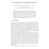 Tree Compression Using String Grammars