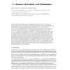 Tree-functors, determinacy and bisimulations
