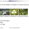 Trees of life: models of children's creative processes