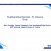 Trust and Cloud Services - An Interview Study