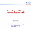 Tunneling and slicing: towards scalable BMC