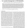 Two-Level Pointer Forwarding Strategy for Location Management in PCS Networks