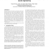 Two methodologies for physical penetration testing using social engineering
