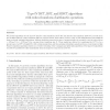Type-IV DCT, DST, and MDCT algorithms with reduced numbers of arithmetic operations