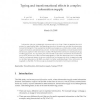 Typing and Transformational Effects in Complex Information Supply