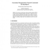Uncertainty Management for Network Constrained Moving Objects