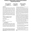 Understanding context: creating a lasting impact in experimental software engineering research