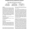 Understanding file access mechanisms for embedded Ubicomp collaboration interfaces