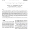 Understanding knowledge sharing activities in free/open source software projects: An empirical study