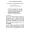Understanding Semantic Web Applications