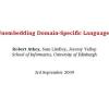 Unembedding domain-specific languages