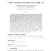UNIBA-SENSE @ CLEF 2009: Robust WSD Task