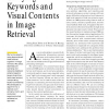 Unifying Keywords and Visual Contents in Image Retrieval